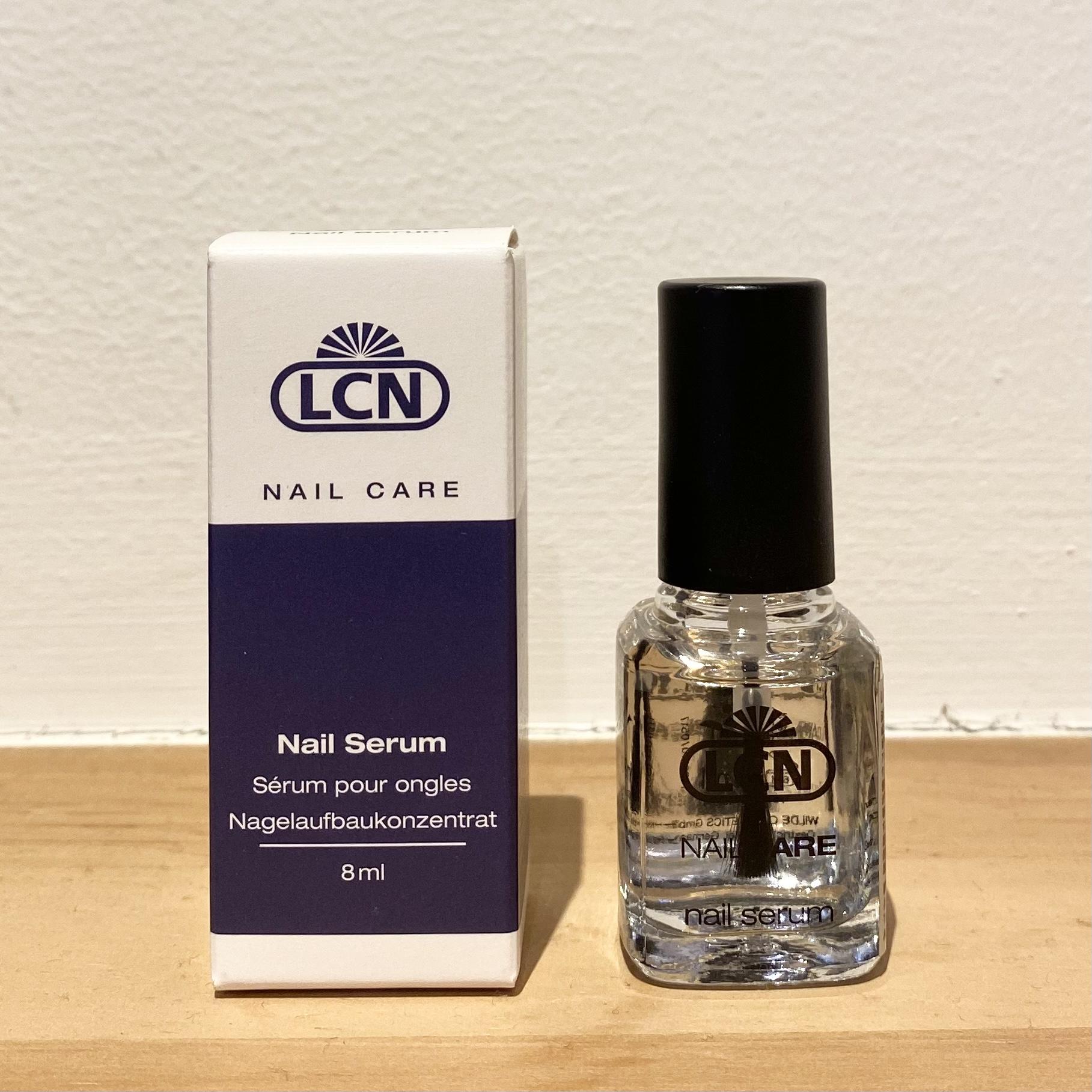 【NEW】LCN ネイルセラムで強く美しい爪へ♪