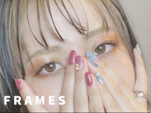 マツエク&ネイル同時施術できるFRAMES eyelash&nail♪